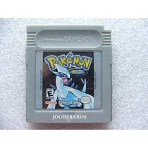 Gbc: Pokemon Silver Original Americano! Bateria Nova! Raro!