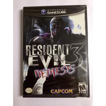 Game Cube Resident Evil 3 Novo Lacrado .