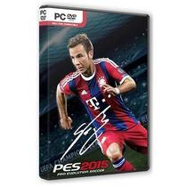Jogo Pes Pro Evolution Soccer 2015 Para Pc Computador Dvd