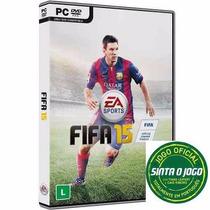 Fifa 15 Pc - Dvd Original Lacrado - 100% Português -