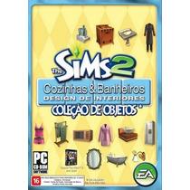 The Sims 2 Cozinhas E Banheiros Coleção De Objetos Original
