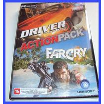 Far Cry + Driver Parallel Lines Pc Computador Lacrado Farcry