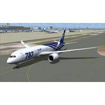 Boeing 787 Pack Para Flight Simulator 2004 E Fsx