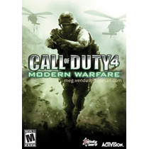 Call Of Duty 4 Modern Warfare Pc Mac Frete Grátis