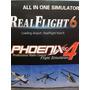 Simulador Phoenix 4 All In One Align Trex Simulator Real