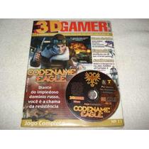 Revista Cd Expert Game Codename Eagle Completo