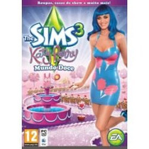 Expansão The Sims 3 Katy Perry Mundo Doce Ed.limitada Pc Mac