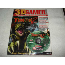 Revista Cd Expert Game Turok 2 Seeds Of Evil Completo