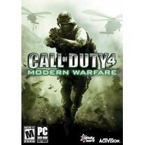 Game Pc Call Of Duty 4 Modern Warfare - Dvdrom