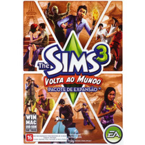 Game Pc Mac The Sims 3 Volta Ao Mundo Original E Lacrado
