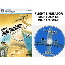 Flight Simulator X Deluxe + Pack Cia Nacionais