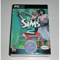 The Sims 2 Vida De Universitário | Expansão | Pc | Original