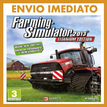 Farming Simulator 2013 Titanium Edition Pc Original - Online