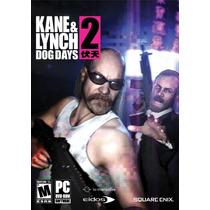 Kane & Lynch 2 Dog Days Pc Game Computador Original Lacrado