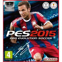 Pro Evolution Soccer 2015 Pes 2015 Original Pc