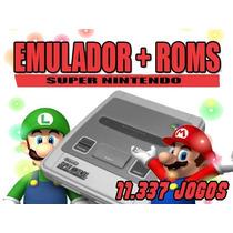 Super Nintendo Emulador + 11.337 Roms