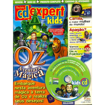 Revista Cd Expert Lacrada Kids Oz Aventura Magica Jogo Compl