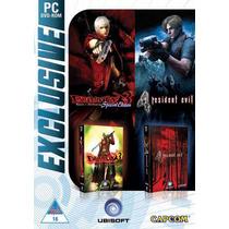 Resident Evil 4 E Devil May Cry 3, Pc Dvd, Lacrado, Original