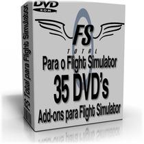 Fs Total Para O Flight Simulator -35 Dvd