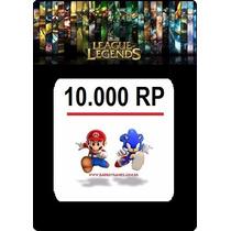 League Of Legends Pin Code 10.000 Rp Lol