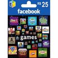 Facebook Game Card 25 Reais ( Para Jogos Do Facebook )
