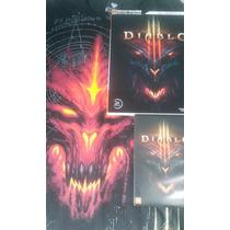 Diablo 3 Pc/dvd + Guia Oficial Do Jogo + Camiseta Oficial /m