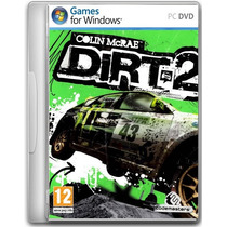 Dirt 2 Jogo Pc Original Lacrado Game Raro Rally Corrida