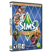 Jogo The Sims 3 - Pc Mac Windows Dvd - Expansão Monte Vista