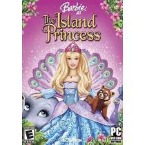 Game - Pc Dvd Barbie The Island Princess - Original Lacrad