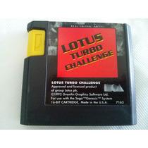 Lotus Mega Drive Sega Genesis Original Americano *raridade*
