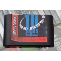 Sega Top Ten 10 Jogos Original Mega Drive