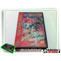 Mega Sonic Spinball Original Mega Drive/genesis