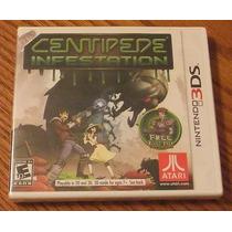 3ds: Centipede Infestation Original! L A C R A D O! Jogaço!