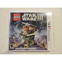 Jogo Nintendo 3ds Star Wars Iii Lego