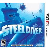 Steel Diver Nintendo 3ds Novo Original Lacrado