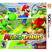Mario Tennis Open - 3ds Novo