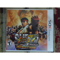 Cartucho Super Street Fighter Iv 3d Edition P/ Nintendo 3ds
