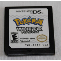 Ds: Pokemon White Rpg Original Americano!! Jogaço!!