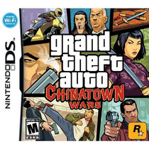 Grand Theft Auto: Chinatown Wars Ds Americano! Raro Lacrado!