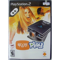 Eye Toy Play Jogo Game Playstation 2 Oportunidade Leilao!
