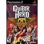 Guitar Hero Aerosmith Ps2 Original Usado