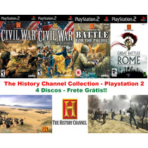 The History Channel Game Collection - Playstation 2 Frete Gt