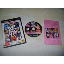 Ps2 - Grand Theft Auto Vice City / Gta / Capcom