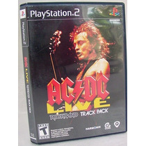 Ac/dc Live Music Rockband 18 Classicos Ps2 Orig Amer Complet