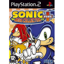 Colecão Patch Sonic Mega Collection Plus Game Sonic Para Ps2