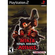 Ninja Assault Ps2 Seminovo