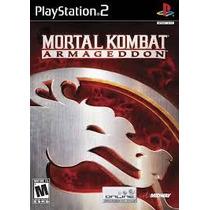 Mortal Kombat Armagedon Ps2