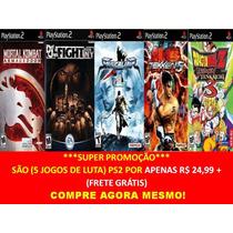 Mortal Kombat + Def Jam Ny + Soul Calibur + Tekken 5 + Dbz 3