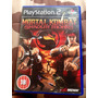 Cd De Play2 Original Mortal Kombat Shaolin Monks