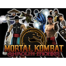 Patche Mortal Kombat Shaolin Monks